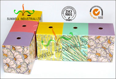 Custom Printed Colored Tuck Top Hole Corrugated Shipping Boxes Hard Cardboard